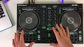 Roland DJ 202 – Review & Demo – Serato DJ Lite Controller