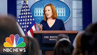 Live: White House Holds Press Briefing   NBC News