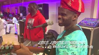 Leke Levite 'Live on the Boat':Played Real Juju Music Covered Tunde Nightingale, Obey & Sunny Ade