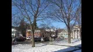 preview picture of video 'Woodstock Vermont town and country'