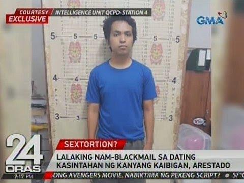 24 Oras: Exclusive: Lalaking nam-blackmail sa dating kasintahan ng kanyang kaibigan, arestado