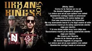 hasta el amanecer remix - nicky jam letra - lyrics