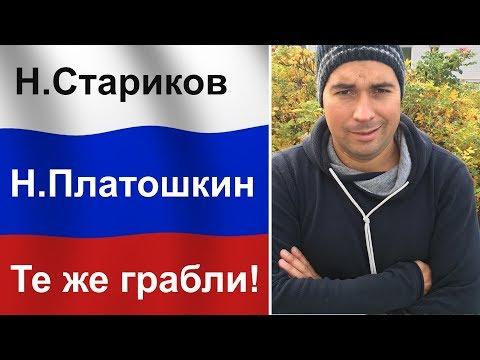 Как дурачат людей в России: Платошкин = Стариков версии 2.0.