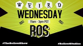 Roll Out Show Weird Wednesday 9-20-17 w/TDP,  Tony Baker, Wiley Edwards, DeeDee Kelly