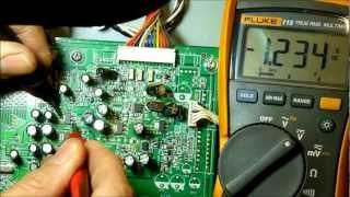 Vizio GV42L GV47L FHDTV10A No Backlight, No Digital Tuner, Locks Up,Wont Power Off
