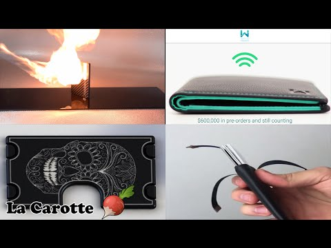 🥕 5 portefeuilles innovants et modernes que vous n'avez surement jamais vu