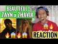ZAYN ZHAVIA A Whole New World REACTION