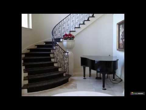 Кованые перила для лестниц: 50 невероятных произведений искусства
