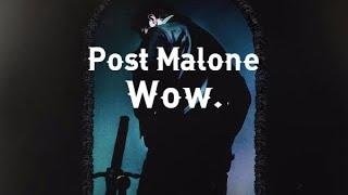 Post Malone • Wow. (Subtitulado Español)