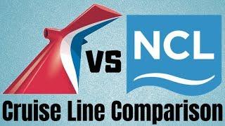 Carnival vs Norwegian - Cruise Line Comparison