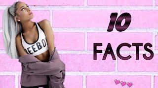 10 Πράγματα για την Ariana Grande (10 Facts) |rafas Play !