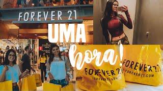 MINHA MÃE DISSE SIM PARA MIM NA FOREVER 21 POR 1 HORA !!!