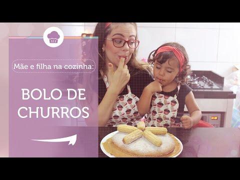 Bolo de Churros - Mãe e Filha na Cozinha