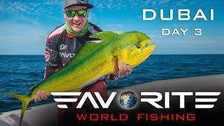 Все мечтают о таком ТРОФЕЕ! Ловля тунца и махи-махи в Дубае. День 3. Favorite World Fishing.