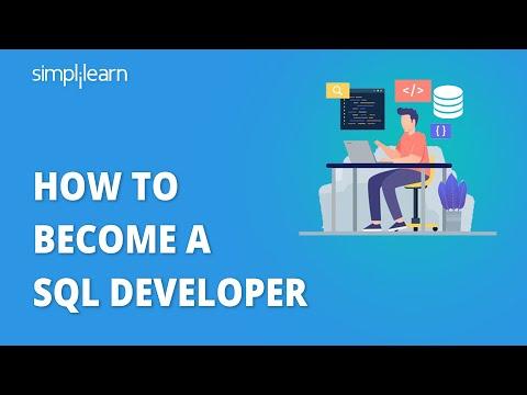 How To Become A SQL Developer   SQL Developer Career Path   SQL Developer   Simplilearn