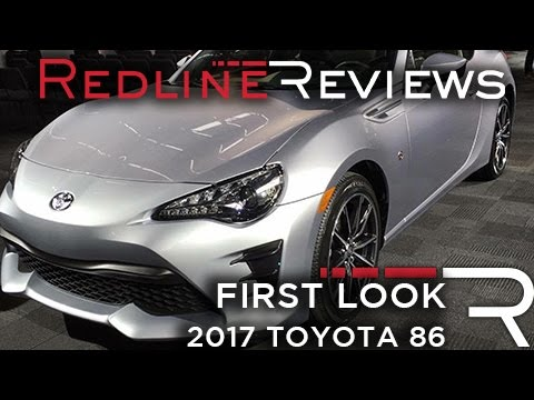 2017 Toyota 86 Redline: First Look