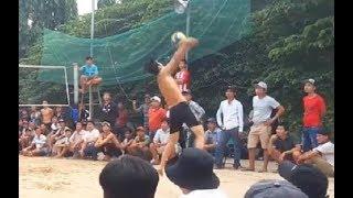 Long Ki (Hải Phòng) 1 chấp 2 Chánh với Bò (Bình Dương) | BÓNG CHUYỀN ĐÓ ĐÂY