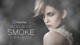 How to Create Realistic Smoke Effect in Photoshop - Dramatic
