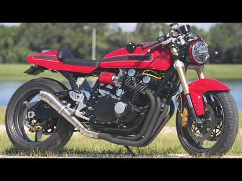 Custom 1978 Suzuki GS1000 Resto-Mod Muscle Bike (fired-up) by Bare Bone Rides (BBR)