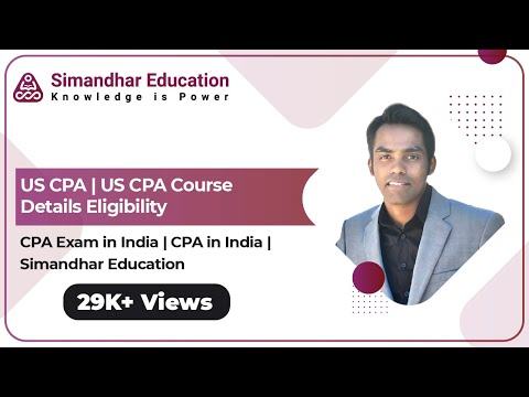 US CPA Course Details 2021 | CPA Exam in India