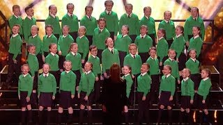 St  Patrick's Junior Choir with Katy Perry Hit Roar   Semi Final 1   Britain's Got Talent 2017