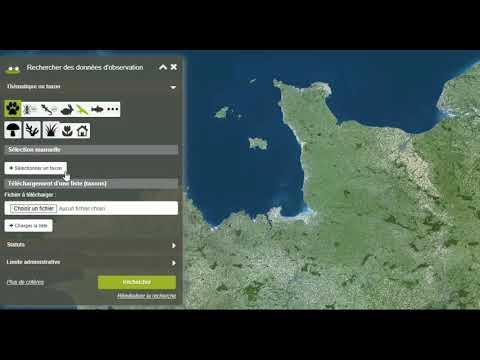 Tutoriel - ODIN : Comment rechercher des données sur la plateforme régionale SINP