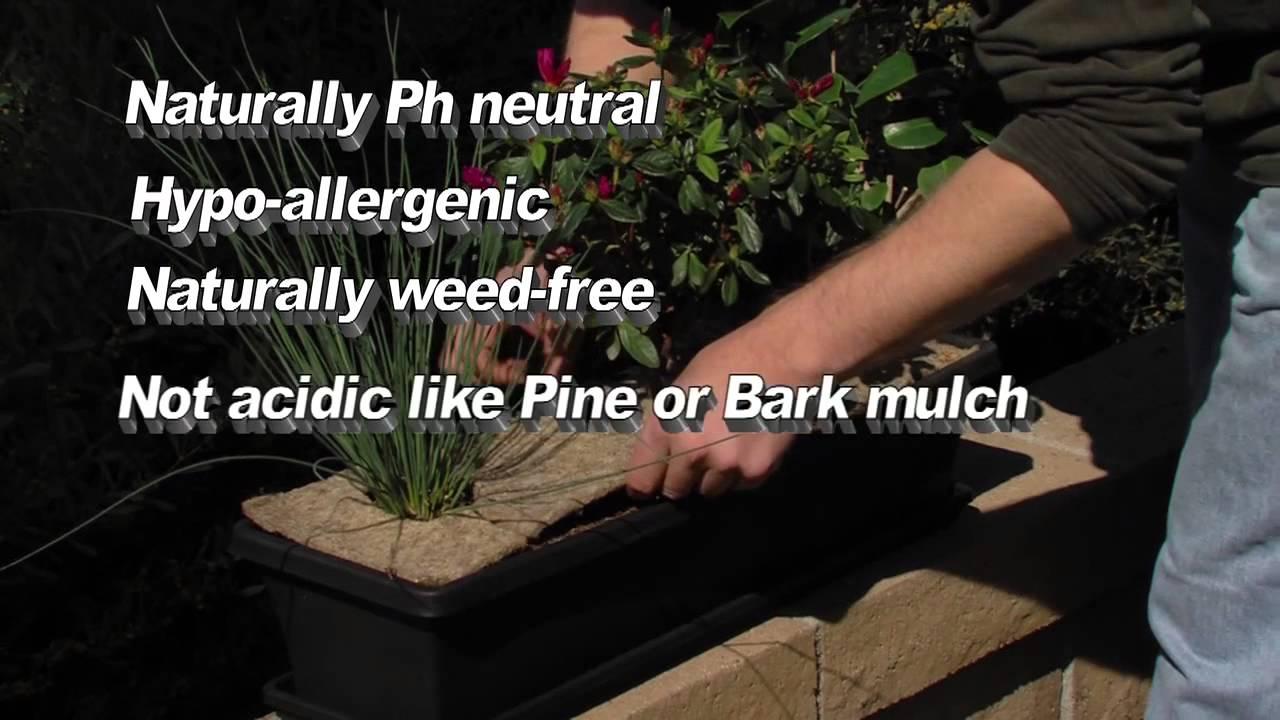 Woven Earth Mulch Mats
