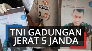 Kuli Bangunan Asal Malang Jerat Janda untuk Diajak Mesum dengan Atribut TNI lewat Aplikasi Tantan