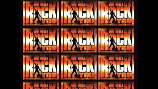 We Will Rock You - One Vision/Radio Gaga Karaoke/Instrumental