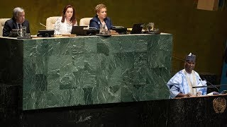 UN General Assembly elects its new president
