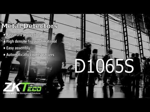 Walk Through Metal Detectors ZK D1065S, ZK D2180S & ZK D3180S
