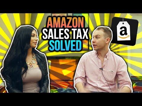 Amazon FBA Taxes For International Sellers 💸Sales Tax Clarification 🙌