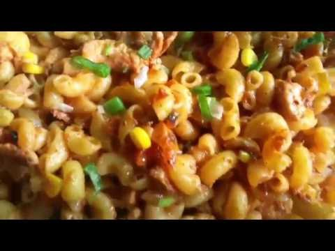 5 minutes macaroni recip (chicken Macaroni) easy recipe