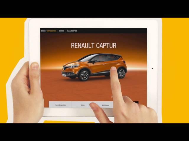Trailer Renault Configurateur 3D