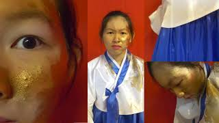 """Faith Nguyen, """"My Blood Bleed Gold,"""" Civic Expression Award, Best-in-Grade Award 2020"""