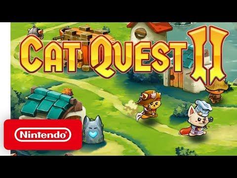 Cat Quest II - Launch Trailer - Nintendo Switch