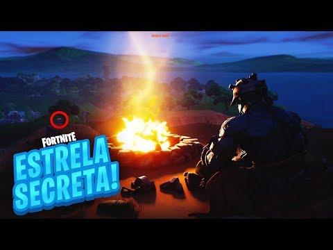 ESTRELA/ESTANDARTE DE BATALHA SECRETA SEMANA 10 TEMPORADA 7 DE FORTNITE