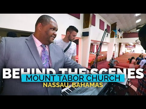 This Church in The Bahamas Sounds so Good | BTS Mount Tabor Church