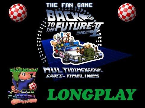 Longplay BTTF V Multidimensional Space Timeline - Comentado 720