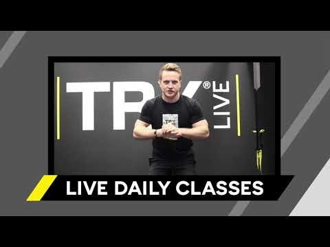 TRX Training Club: TRX Live Classes - YouTube