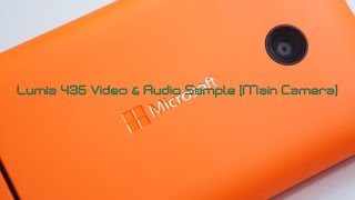 preview picture of video 'Lumia 435 Main Camera Video & Audio Sample'