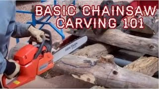 Basic Chainsaw Carving 101, Live! With Mitchell Dillman