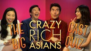 The Ultimate Crazy Rich Asians Cast Quiz!