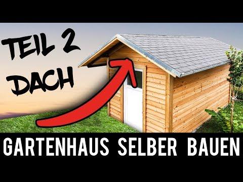 (2/4) 🔥 Gartenhaus 🔥 SELBER BAUEN - ANLEITUNG Schritt für Schritt (Gartenhütte, Holzhütte)