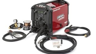 Lincoln Power Mig 210 MP Welder - Review