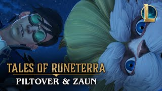 Will you stand with Piltover or dive into the underbelly of Zaun? Play now at https://playruneterra.com  When Heimerdinger's latest hextech creation is stolen by Jinx, the professor sends an unfortunate apprentice on a wild goose chase through the City of Progress… and beneath it.  Cast: Heimerdinger, the Revered Inventor Jinx, the Loose Cannon Amateur Aeronaut Ekko, the Boy Who Shattered Time  EXPLORE THE TWIN CITIES OF PILTOVER AND ZAUN Play as Jinx and Heimerdinger in Legends of Runeterra: https://playruneterra.com/en-us/ Learn more about Piltover, the City of Progress: https://universe.leagueoflegends.com/en_US/region/piltover/ Uncover the mysteries of Zaun: https://universe.leagueoflegends.com/en_US/region/zaun/ Discover the world of Runeterra: https://map.leagueoflegends.com/en_US