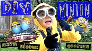 How To Make A Minion Costume - DIY Cute, Best Halloween Costume - PiercesWorld
