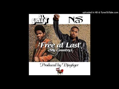 Al Green and Nas – Free At Last (My Country) prod by Djaytiger