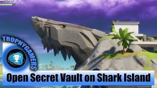 Fortnite – How to Open the Secret Treasure Vault on Shark Island