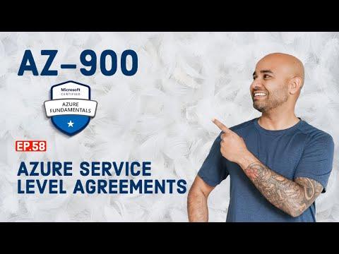 AZ-900 Exam // EP 58 // Azure Service Level Agreements (SLAs ...